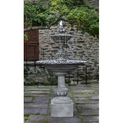 Charleston Concrete Fountain Finish: Alpine Stone