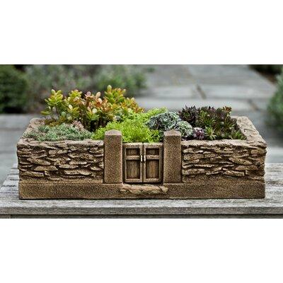 Stone Planter box Finish: Greystone