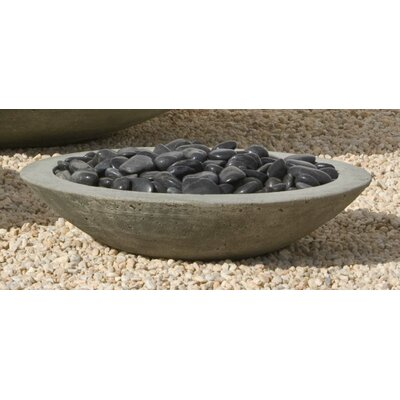 Pettaway Cast Stone Pot Planter Size: Large, Finish: Verde