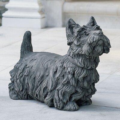 Angus Scotty Dog Statue Color: Ferro Rustico Nuovo