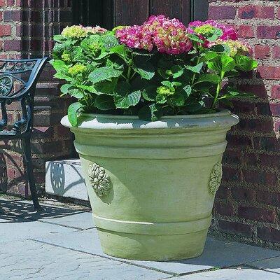 Cast Stone Pot Planter Color: Natural