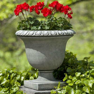 American garden decor - Litchfield Cast Stone Urn Planter - Color: Nero Nuovo - Campania International, Inc Planters