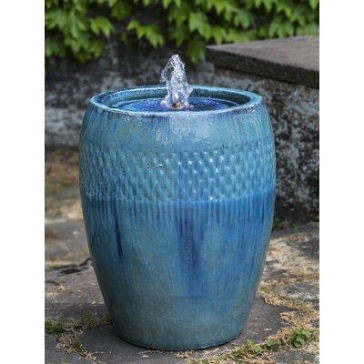 """Malmo Urn Fountain Size: 24"""" H x 18.5"""" W x 18.5"""" D"""