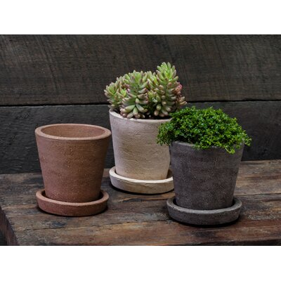 6-Piece Pot Planter Set with Saucer