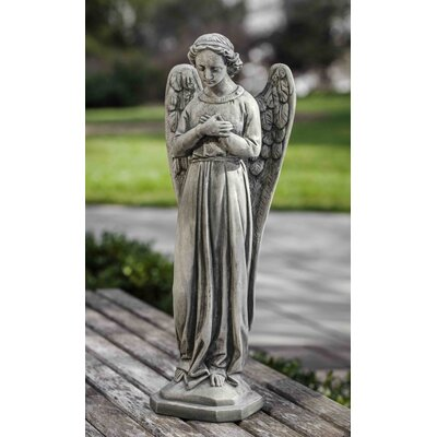 Angel of Grace Statue Color: Aged Limestone