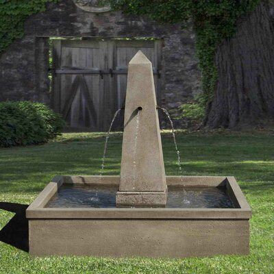 Concrete Fountain Finish: Copper Bronze