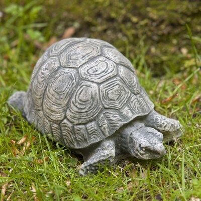 Small Turtle Statue Color: Verde