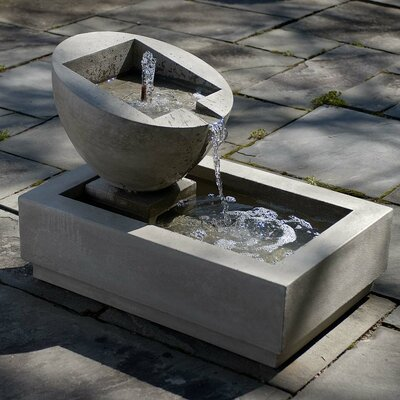 Concrete Genesis II Fountain Finish: Natural