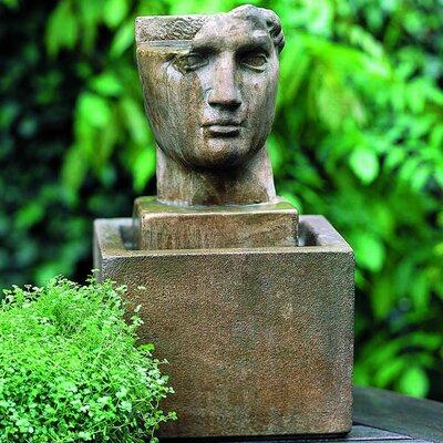 Garden Terrace Concrete Cara Classica Fountain Finish: Aged Limestone