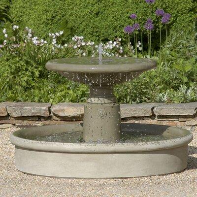 Esplanade Concrete Fountain Finish: Aged Limestone