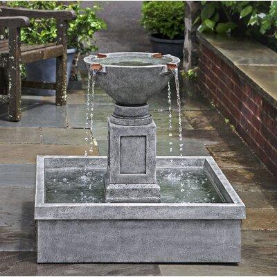 Rittenhouse Concrete Garden Terrace Fountain Finish: Verde