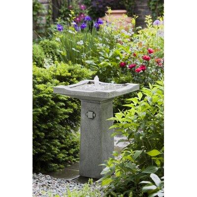 Concrete Bjorn Fountain Finish: Travertine