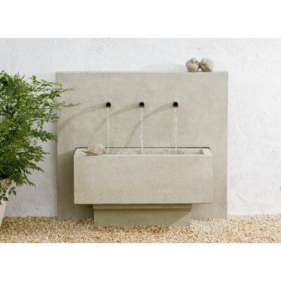 Concrete X 3 Fountain Finish: Aged Limestone
