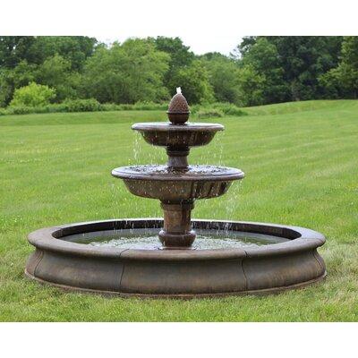 Concrete Beaufort Fountain Finish: Nero Nuovo