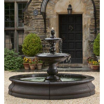 Caterina Concrete Fountain Finish: Alpine Stone