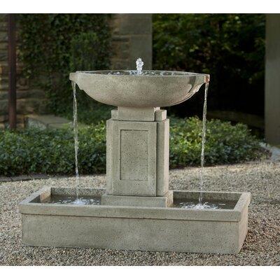 Austin Concrete Fountain Finish: Aged Limestone