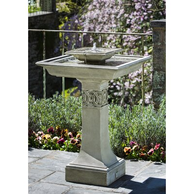 Concrete Portwenn Fountain Finish: Ferro Rustico Nuovo