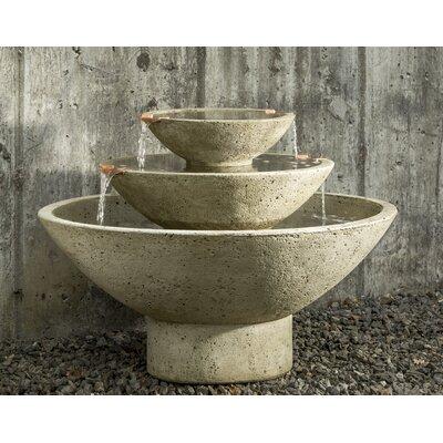 Concrete Carrera Fountain Finish: Graystone