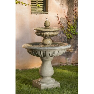 Concrete Longvue Fountain Finish: Natural