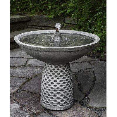 Concrete Pina Fountain Finish: Brownstone