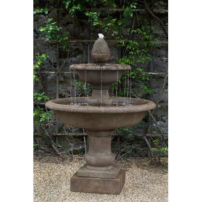 Wiltshire Fountain Finish: Aged Limestone