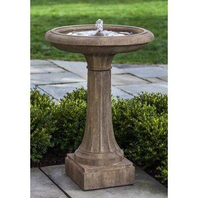 Concrete Longmeadow Fountain Finish: Ferro Rustico Nuovo