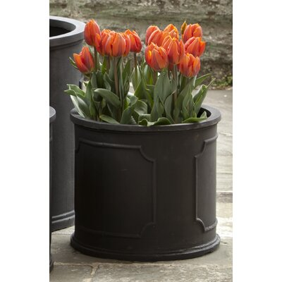 """Clarine Med Portsmouth Rnd Pltr Size: 11.02"""" H x 12.6"""" W x 12.6"""" D, Color: Lead Lite"""