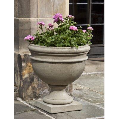 Cast Stone Urn Planter Color: Ferro Rustico Nuovo