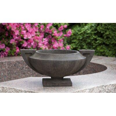 Smithsonian Cast Stone Urn Planter Color: Travertine