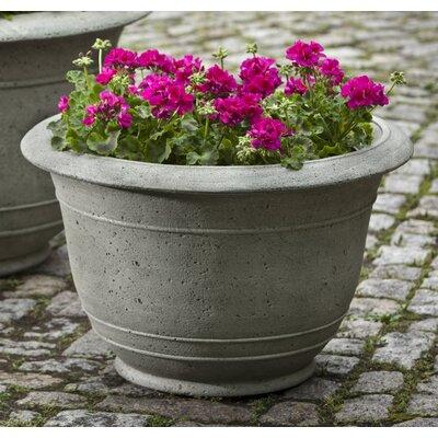 """Padova Cast Stone Pot Planter Color: Natural, Size: 23"""" H x 36"""" W x 36"""" D"""