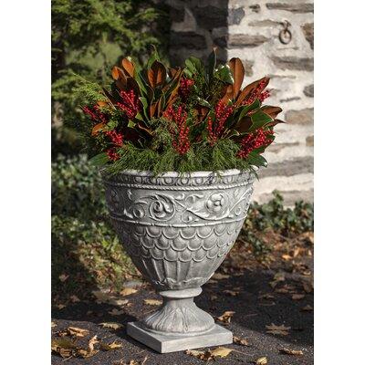 Valadier Cast Stone Urn Planter Color: Ferro Rustico Nuovo