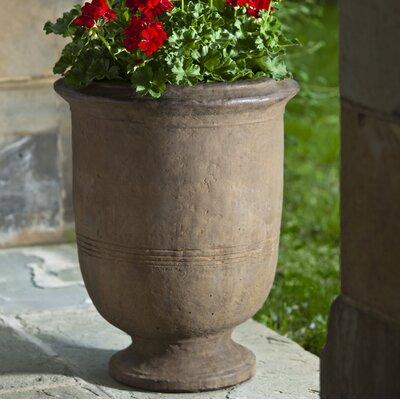Provencal Cast Stone Urn Planter Color: Ferro Rustico Nuovo
