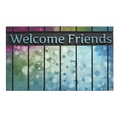 Hamat Eco Master Welcome Message Doormat
