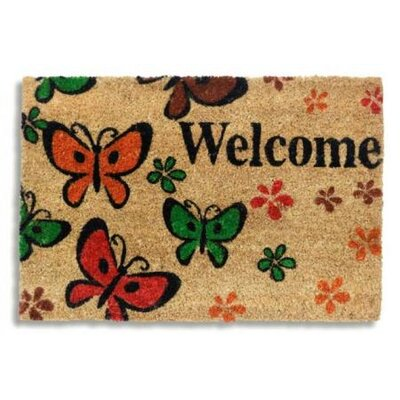 Hamat Ruco Print Welcome Message Doormat