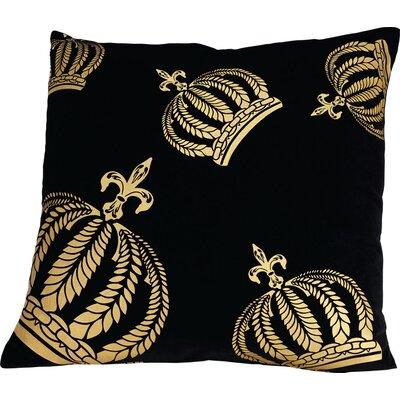 Glööckler Kissenbezug Krone aus 100% Baumwolle