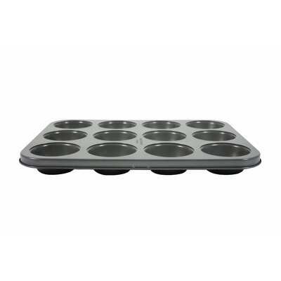Hairy Bikers Non-Stick 12 Cup Silicone Muffin Pan