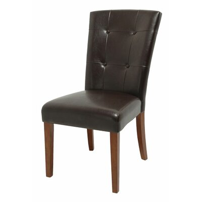 Valholl Kettle 7 Piece Dining Set Chair Upholstery: Dark Brown