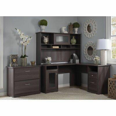 Hillsdale 3 Piece L-Shape Desk Office Suite