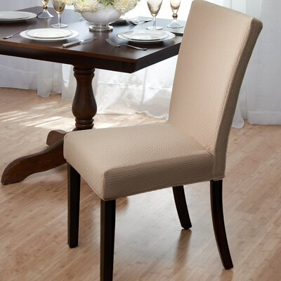 dining room chair slipcover wayfair. Black Bedroom Furniture Sets. Home Design Ideas