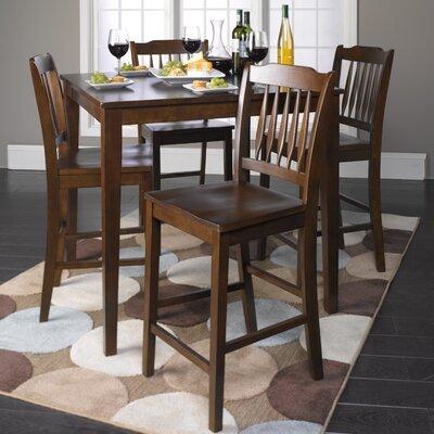 Lamberton 5 Piece Counter Height Dining Set
