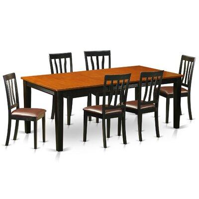 Loraine 7 Piece Extendable Dining Set
