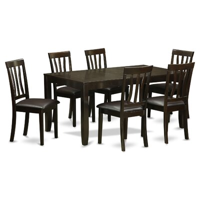 Lockmoor 7 Piece Extendable Dining Set