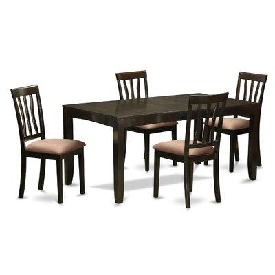 Lockmoor 5 Piece Extendable Dining Set