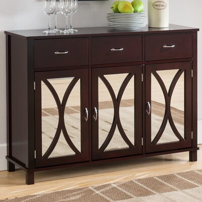 Sidell 3 Door Accent Cabinet