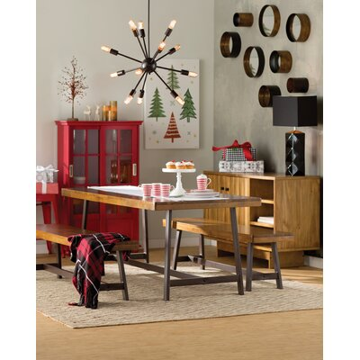 Lanz Standard Bookcase Finish: Red