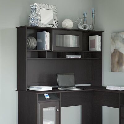 "Hillsdale 36"" H x 60"" W Desk Hutch Finish: Espresso Oak"