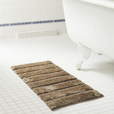 """Middlefield Bath Rug Color: Taupe, Size: 32"""" H x 20"""" W"""