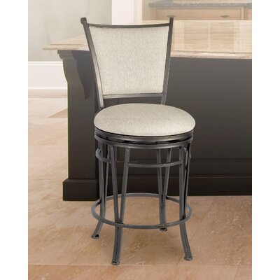 "Benefit Swivel Bar & Counter Stool Seat Height: Counter Stool (24"" Seat Height)"