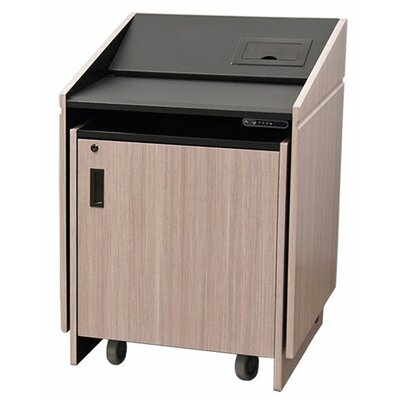 Electric Lift Lectern Finish: Crystal White