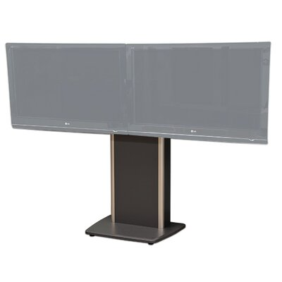 """Fixed Base Telepresence Stand for 32"""" - 70"""" Diplays Finish: Auburn Pear"""